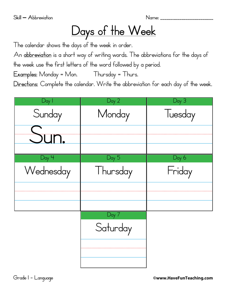 Printables Abbreviation Worksheets abbreviation worksheets have fun teaching worksheet