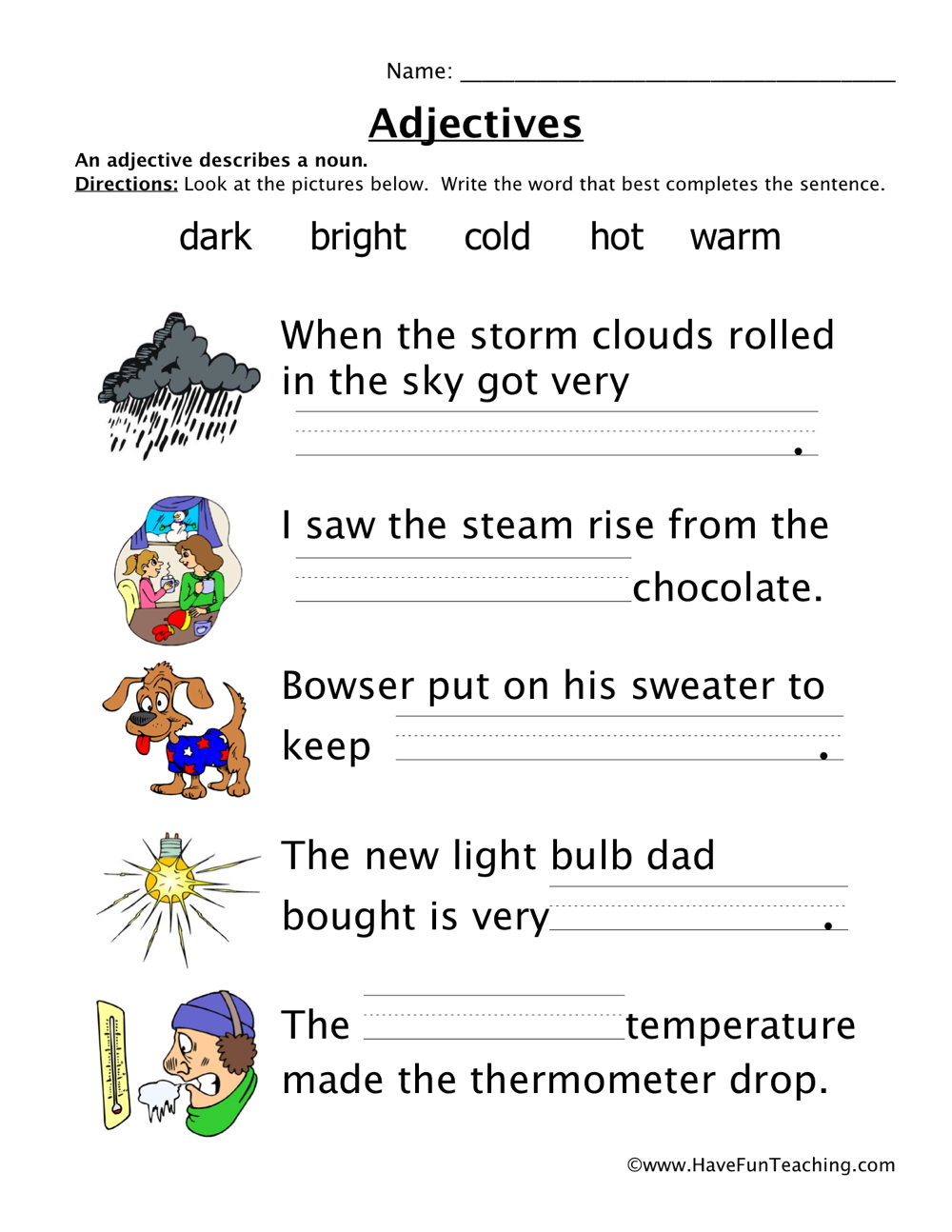 Grammar Worksheets | Have Fun Teaching