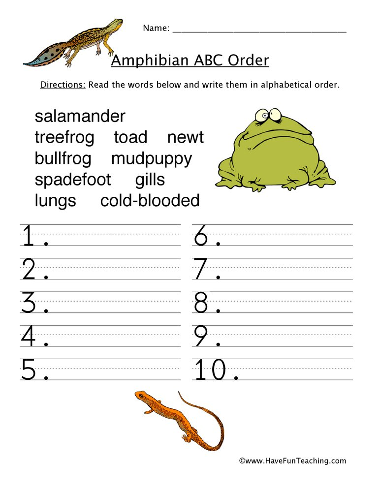 alphabetical-order-worksheet-amphibians