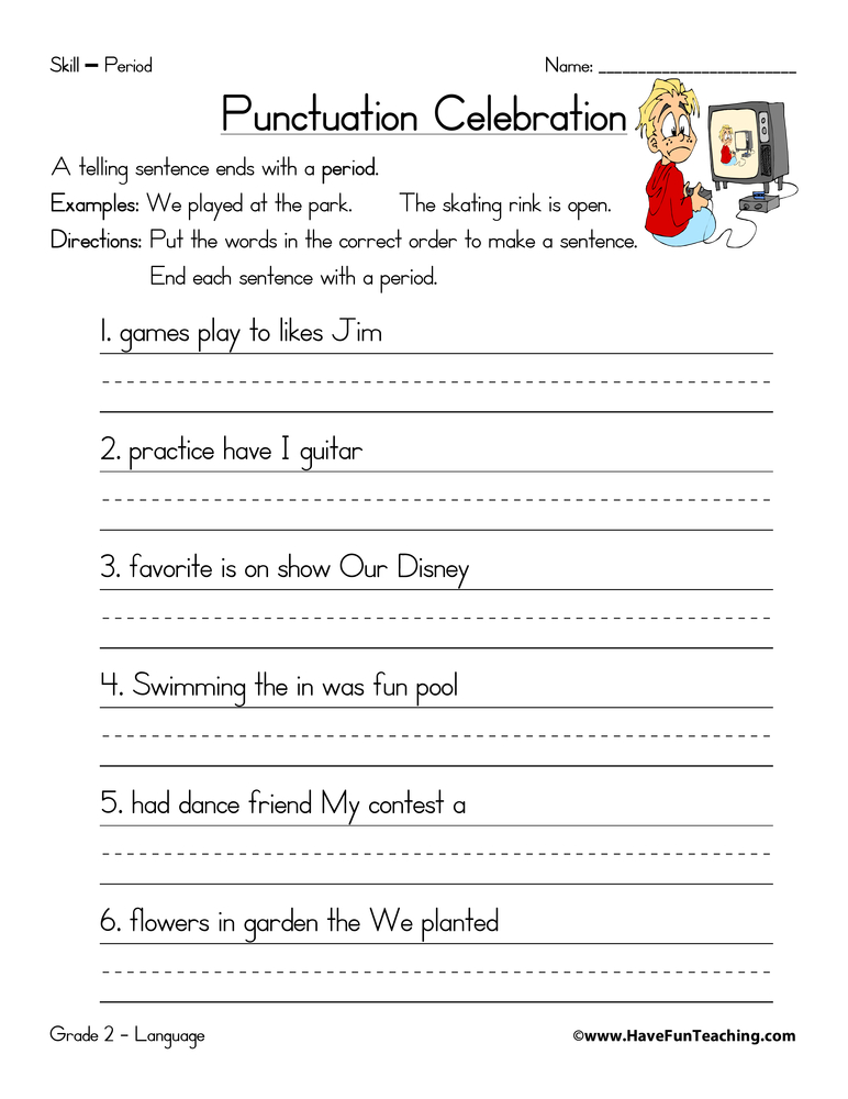 period worksheet have fun teaching. Black Bedroom Furniture Sets. Home Design Ideas