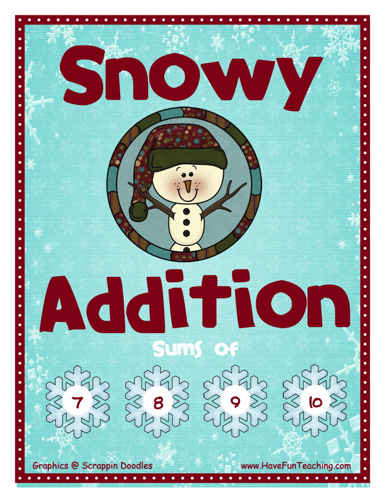 Snowy Addition Activity