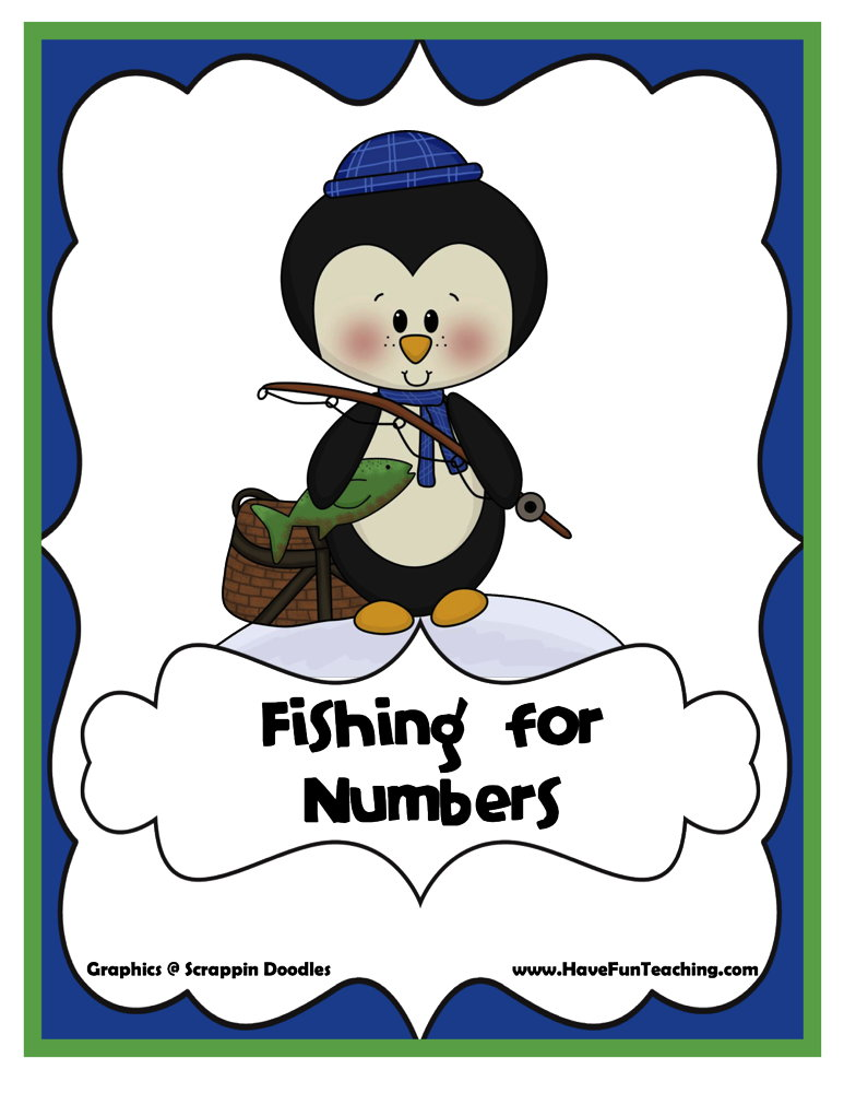 Fishing for Numbers Addition Inequalities Activity