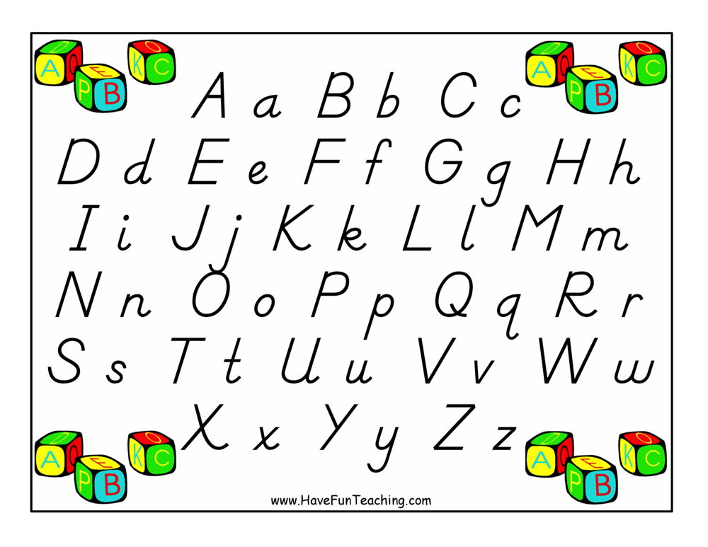 alphabet-poster-dnealian-letters