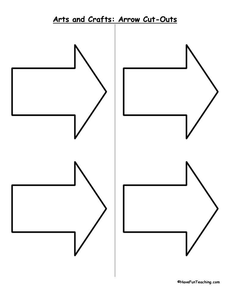 arrow-cutouts