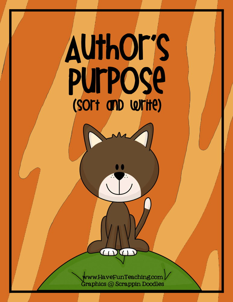 authors-purpose-activity