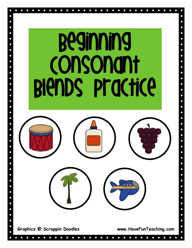 beginning-consonant-blends-activity