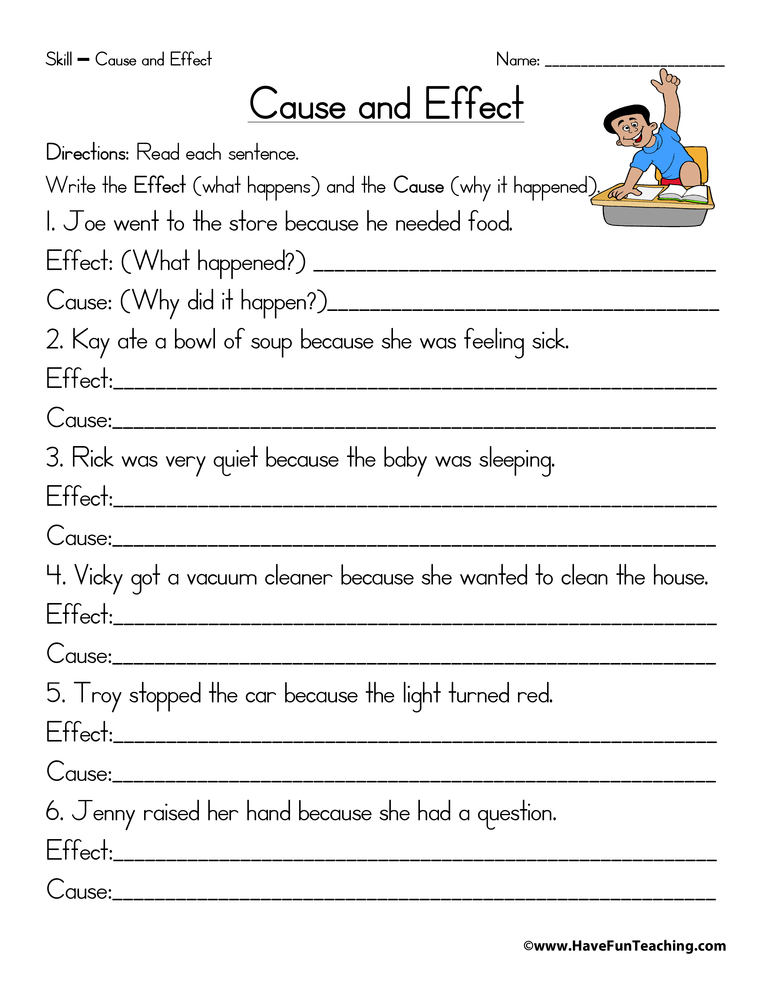 cause-and-effect-worksheet