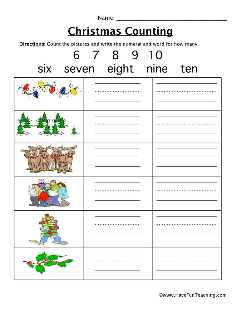 christmas-counting-worksheet-1
