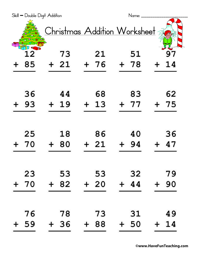 christmas-math-worksheet-2