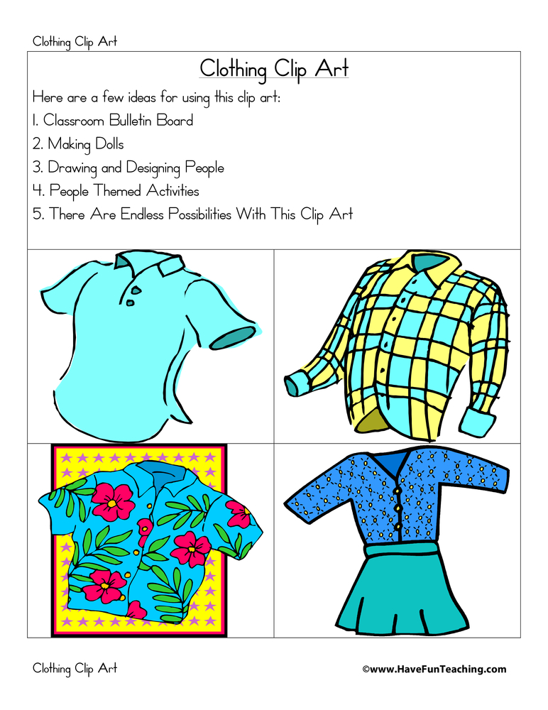 clothing-clip-art