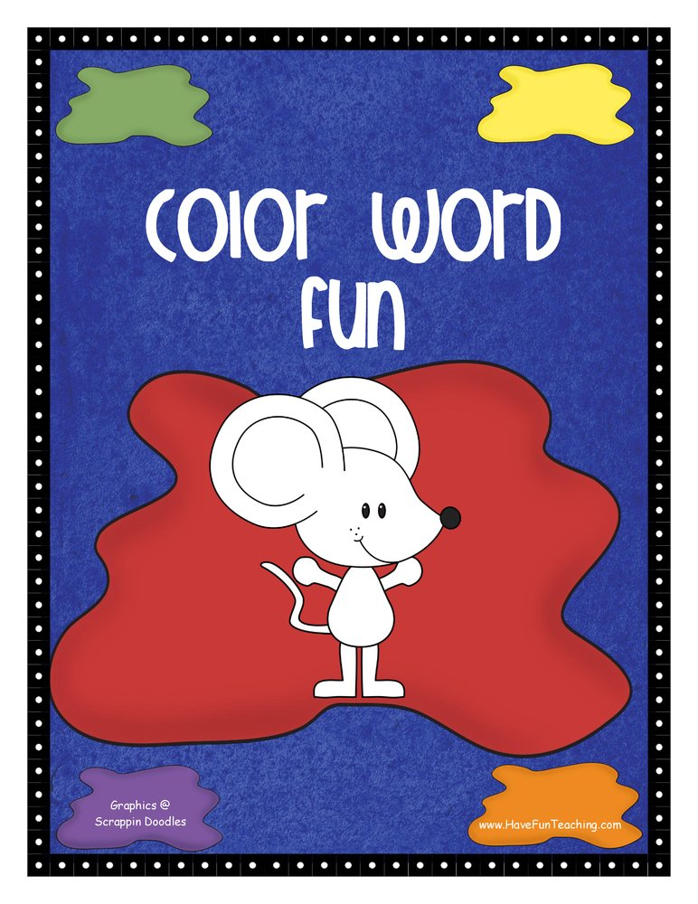 Color Word Activity