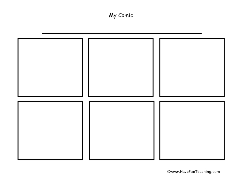 comic strip essays