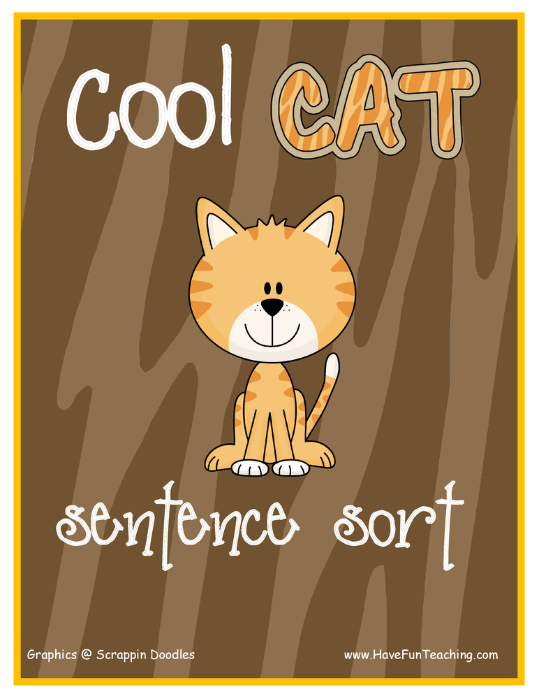 cool-cat-sentences-activity