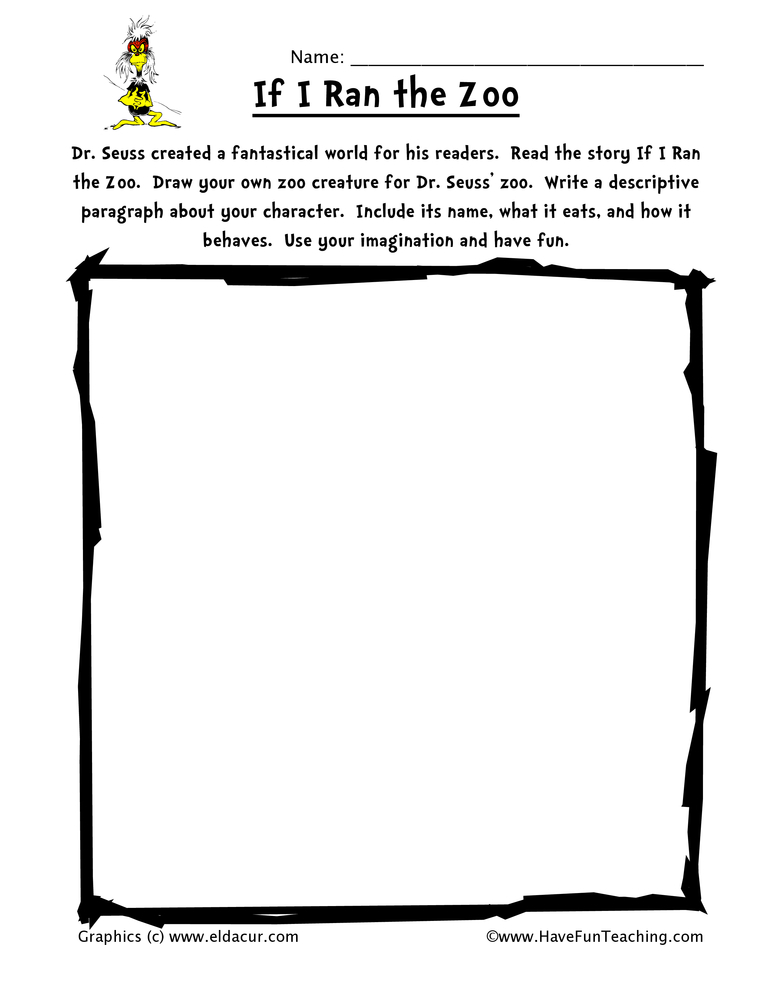 dr-seuss-worksheet-if-i-ran-the-zoo