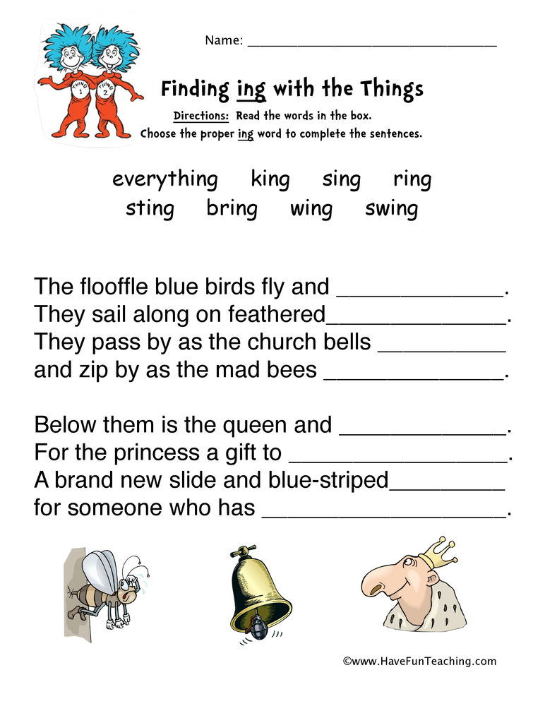 picture relating to Dr Seuss Word Search Printable referred to as Dr. Seuss Worksheets Include Entertaining Education