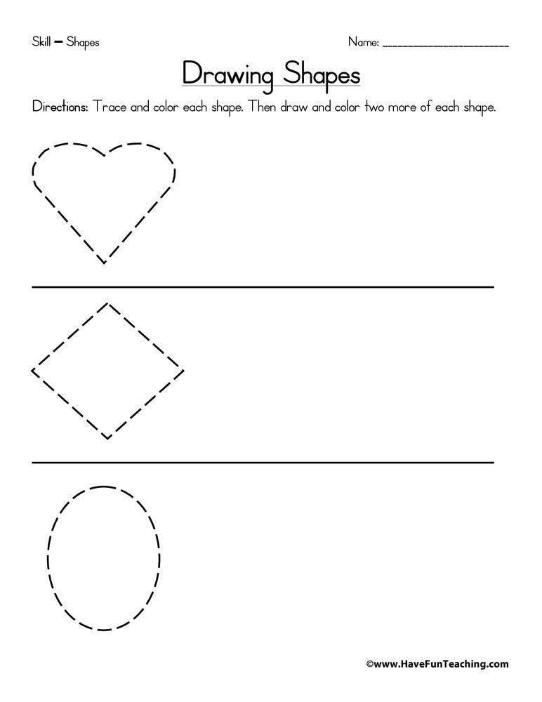 Worksheets Drawing Rhombus Worksheet geometric shapes crossword puzzle have fun teaching drawing worksheet