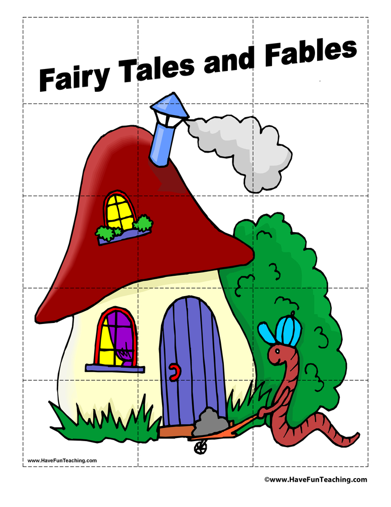 Fairy Tales and Fables Puzzle