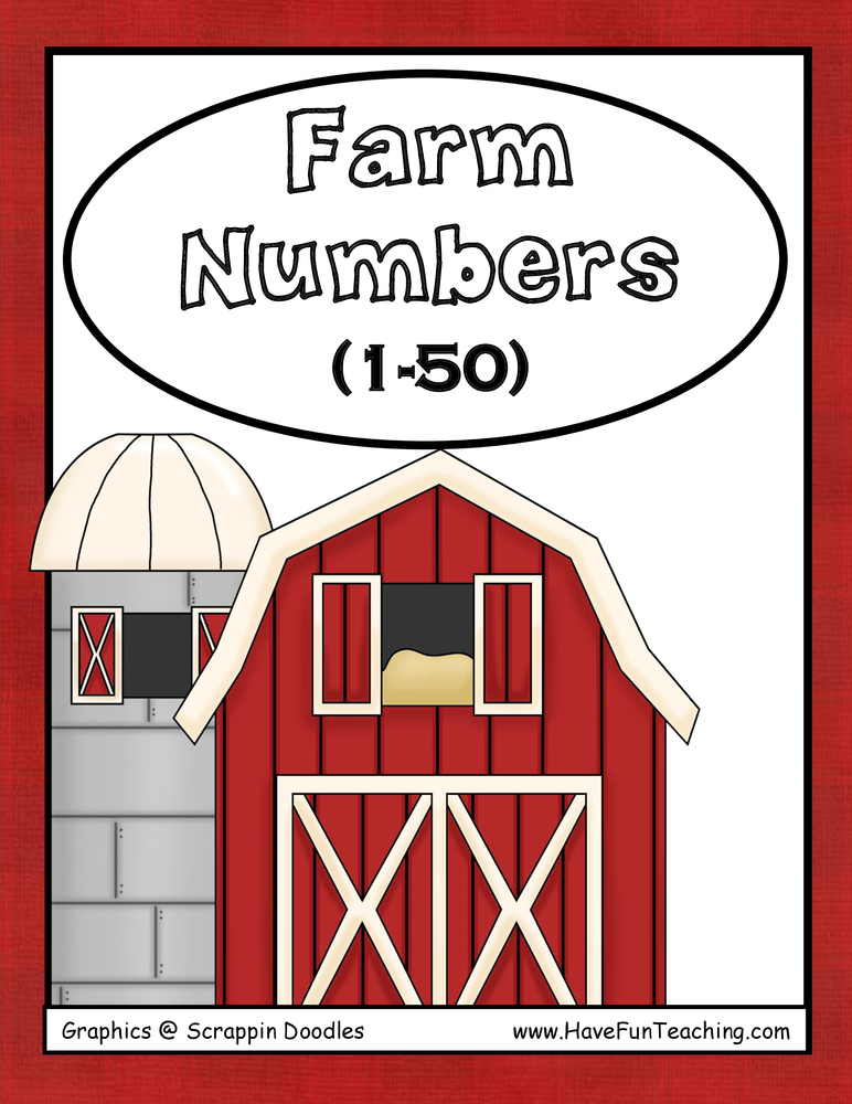 Farm Numbers Activity