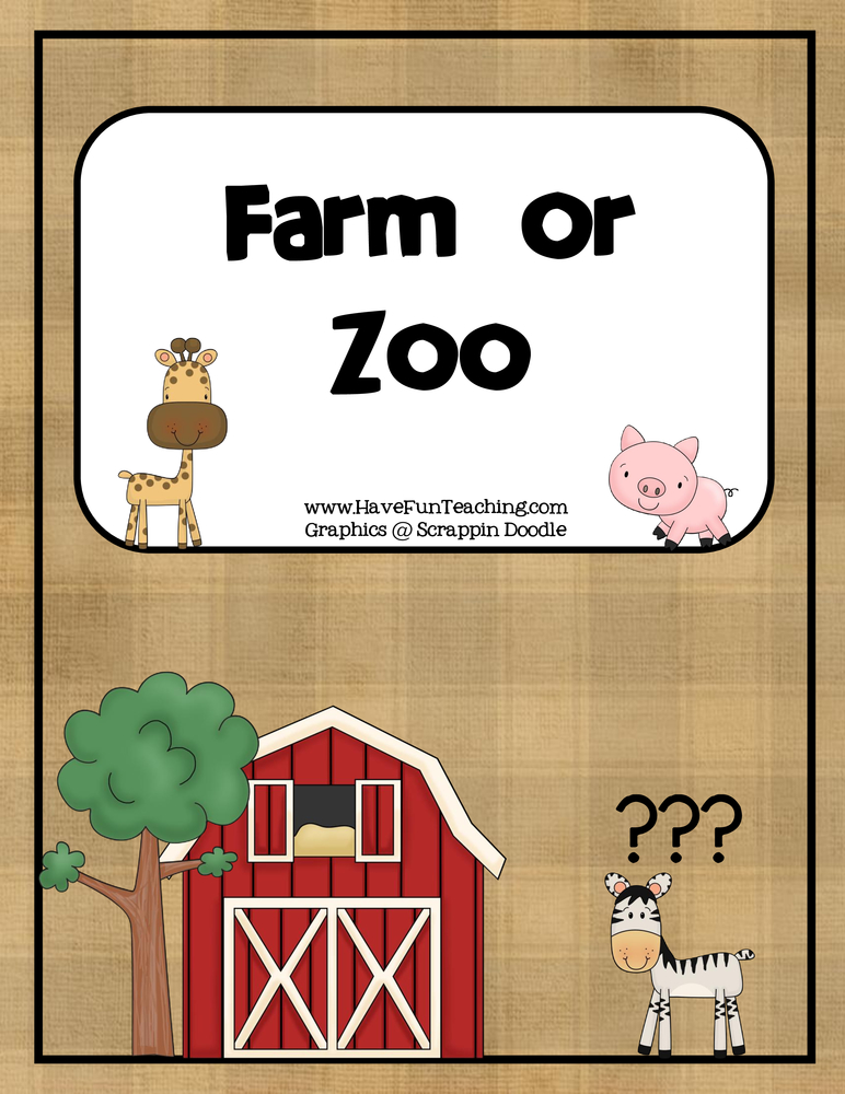 farm-or-zoo-matching-activity