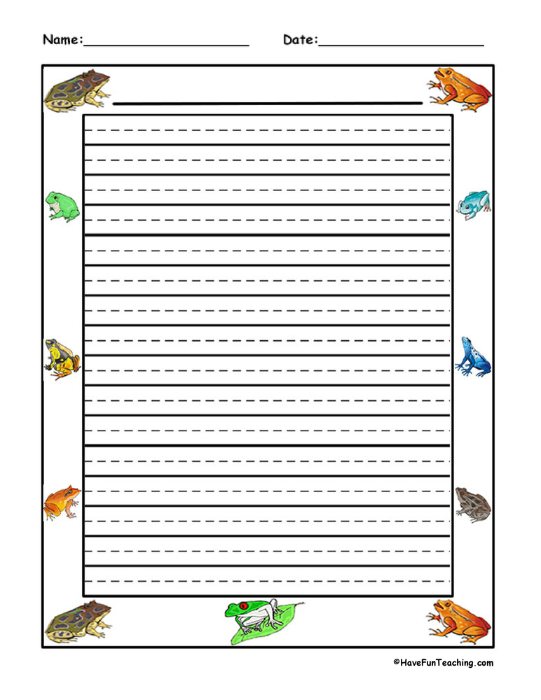 frog writing paper Find great deals on ebay for frog writing paper shop with confidence.