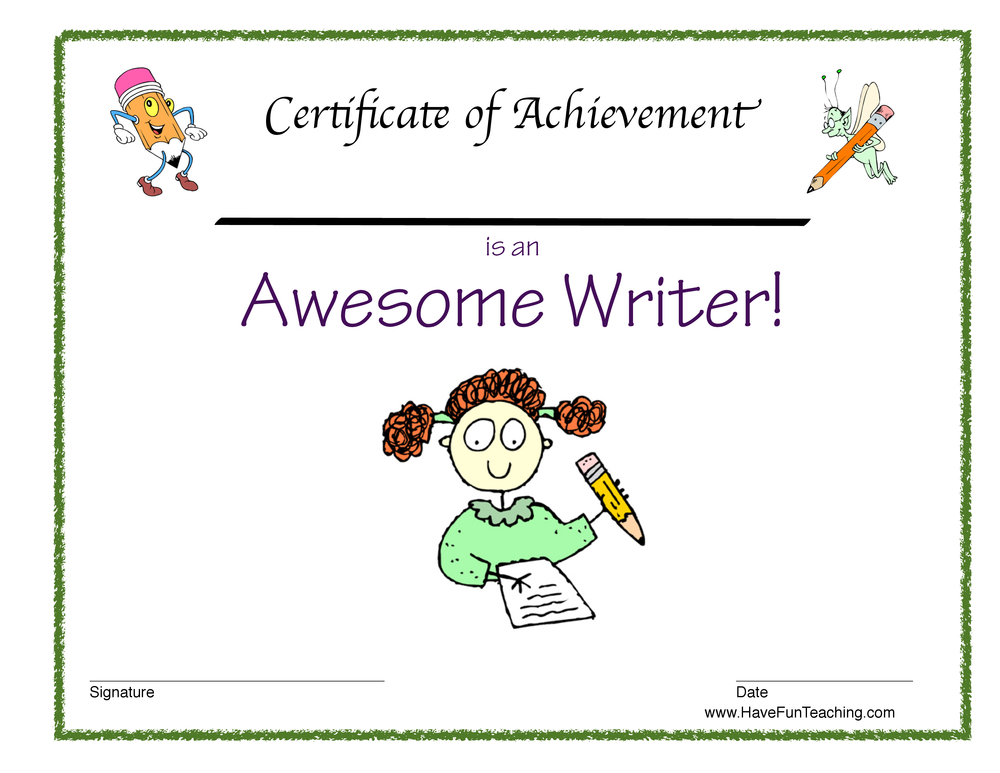 girl-awesome-writer-certificate