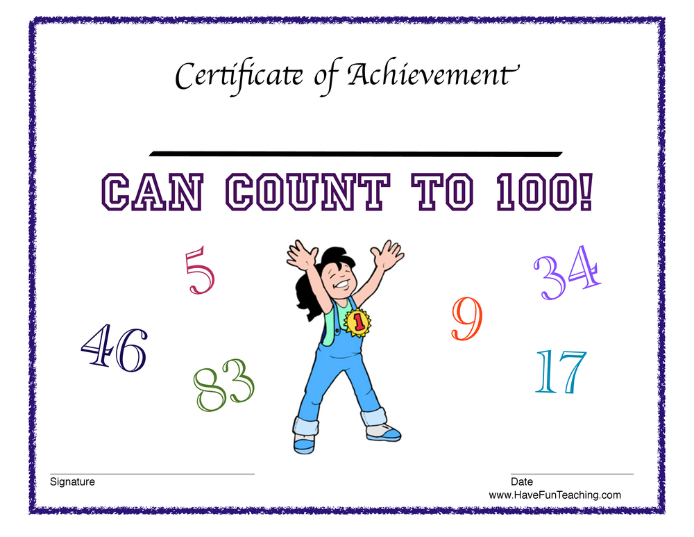 girl-count-100-certificate