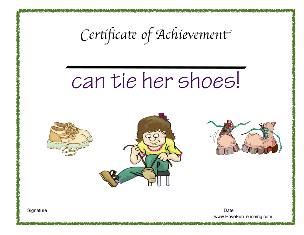 girl-tie-shoes-certificate