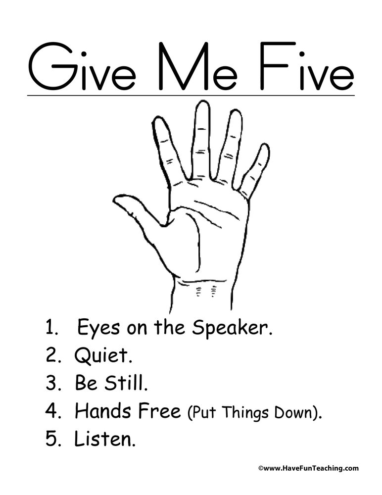 give-me-five-poster