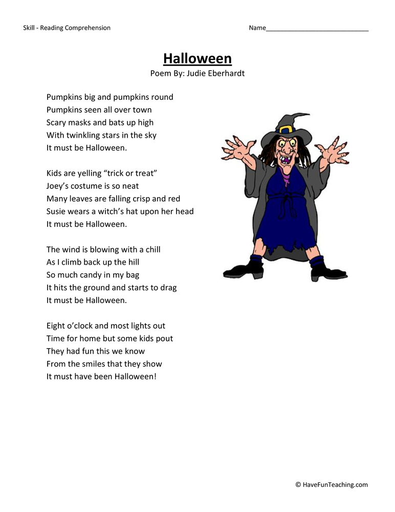 halloween-third-grade-reading-comprehension-worksheet