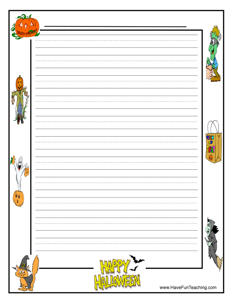 halloween-writing-paper