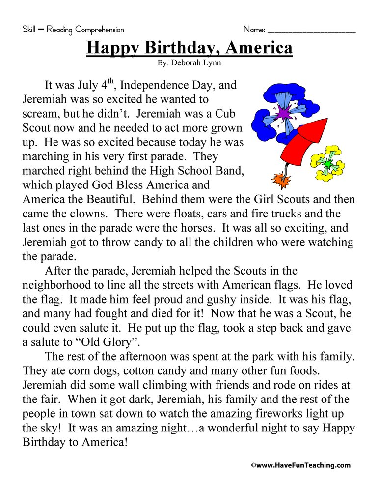 4th of july worksheets have fun teaching. Black Bedroom Furniture Sets. Home Design Ideas