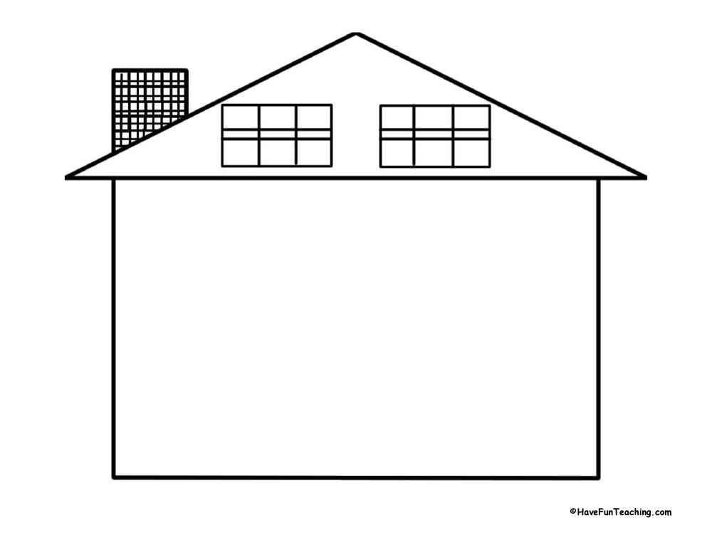 house-shape-book