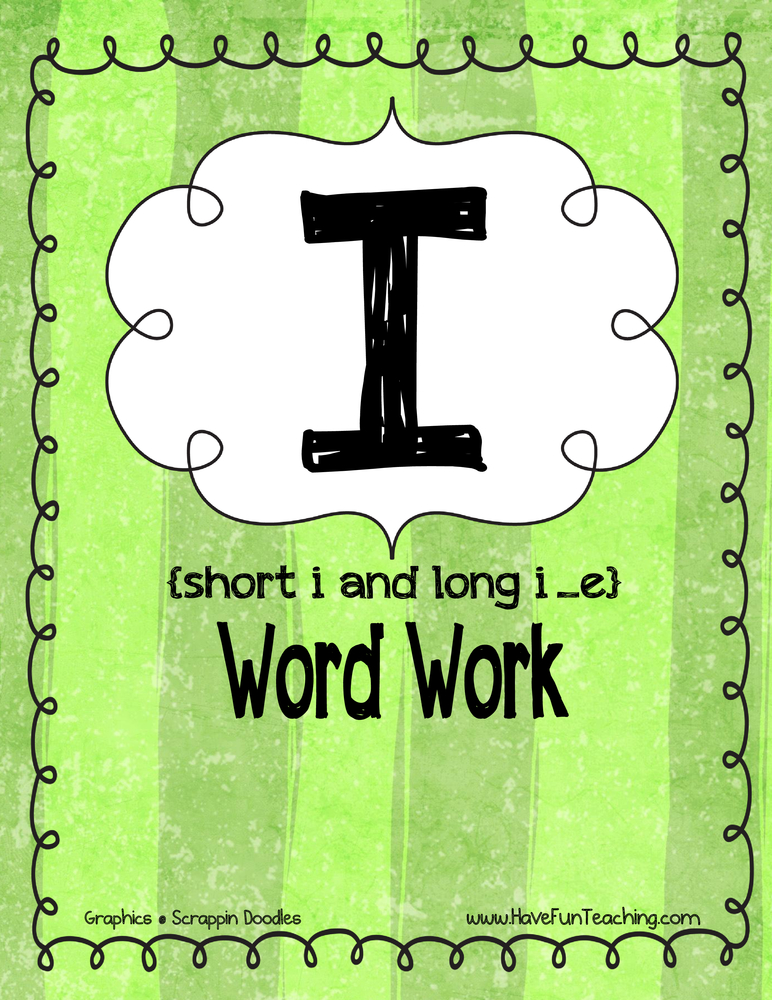 i-word-work-activity