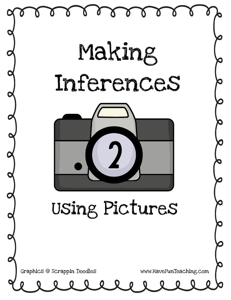 Making Inferences Pictures Activity