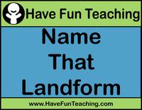 landforms-activity