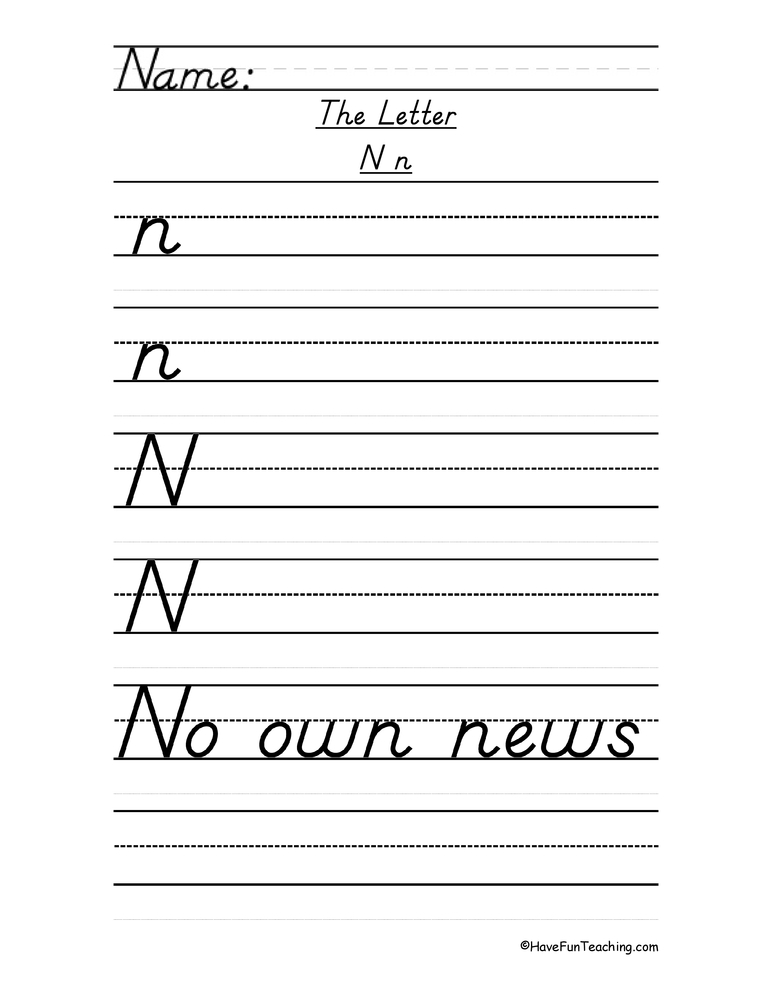 Letter N Dnealian Handwriting Practice in addition  as well Alphabet Handwriting Practice together with Halloween Safety furthermore Cc A C C B F B. on letter h handwriting practice dnealian