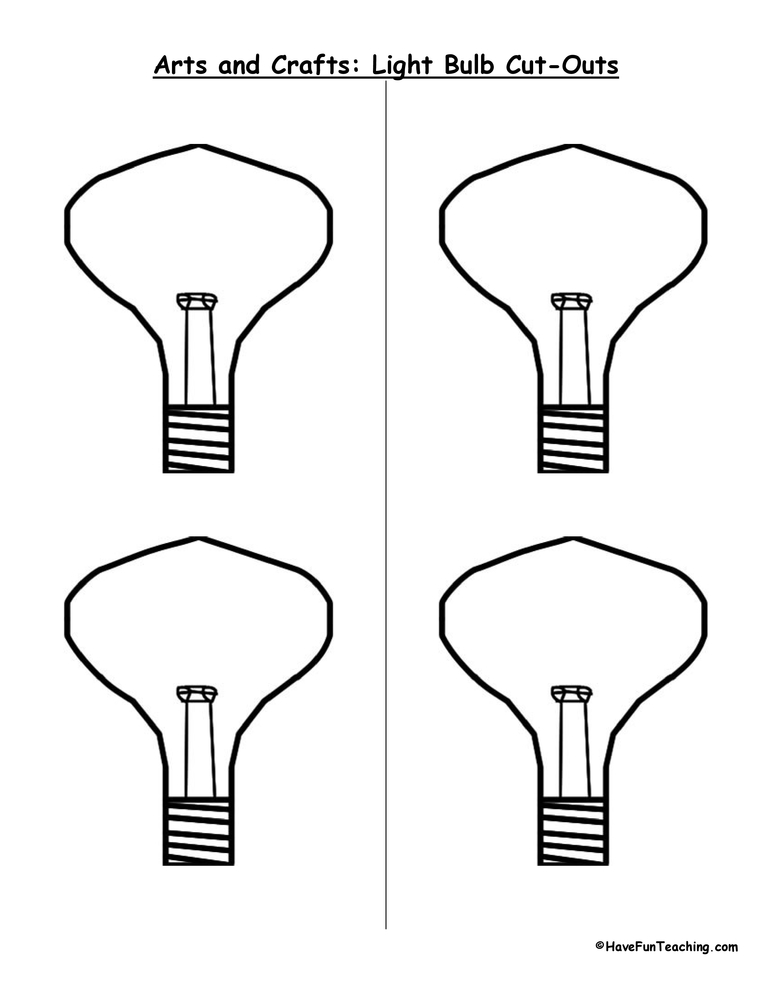 light-bulb-cutouts