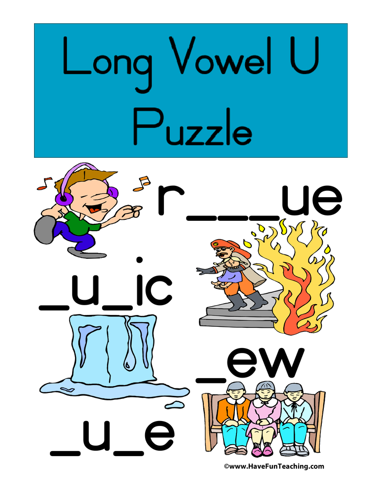 long-vowel-u-puzzle