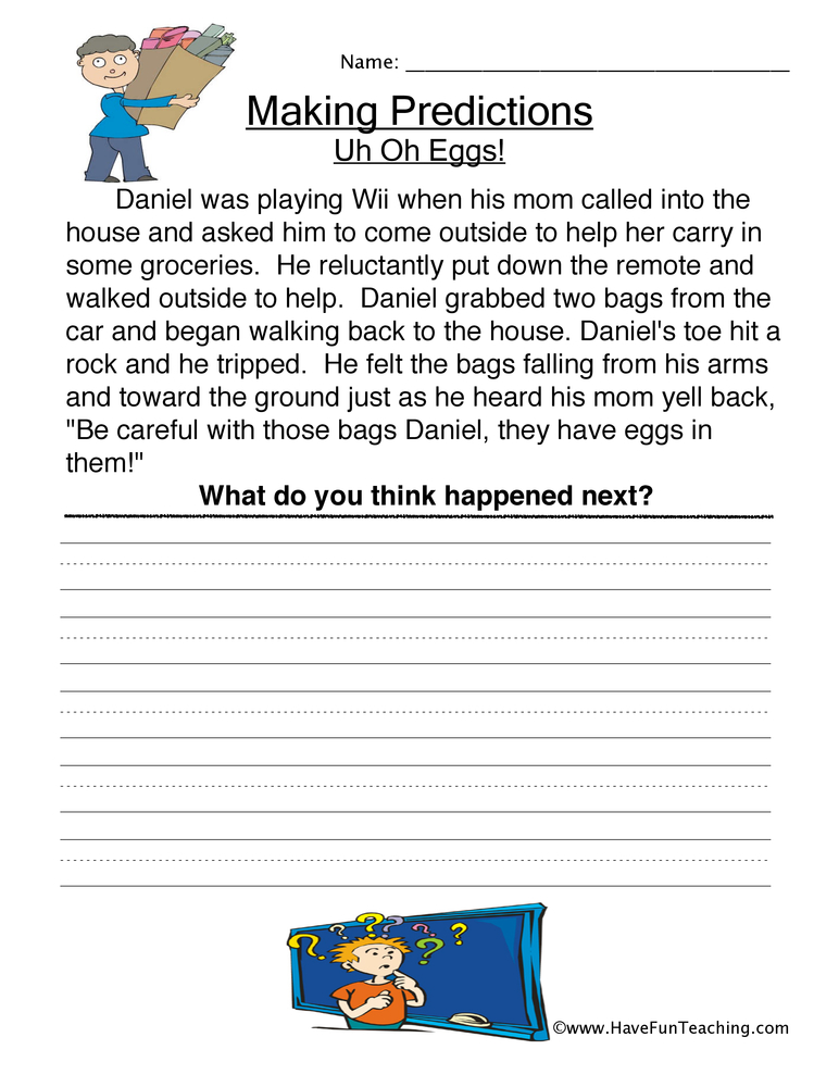 making-predictions-worksheet-2