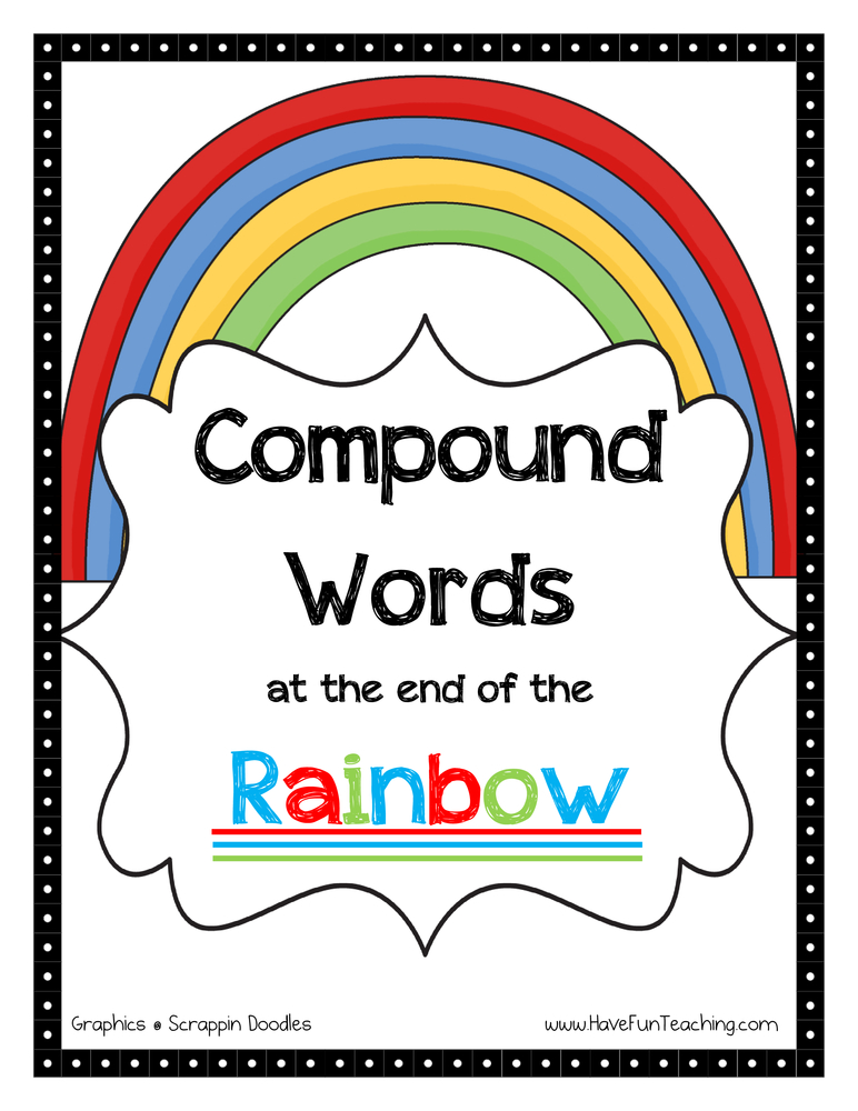 Compound Words Activities : Have Fun Teaching