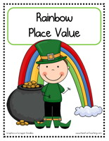 Rainbow Place Value Activity