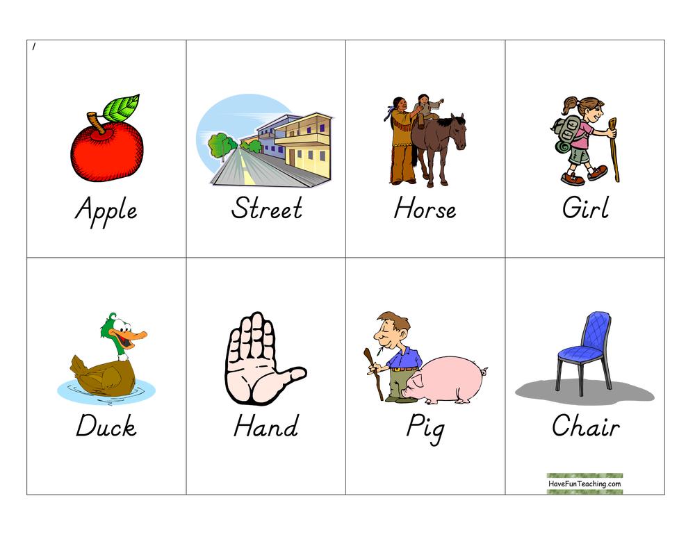 noun-bingo