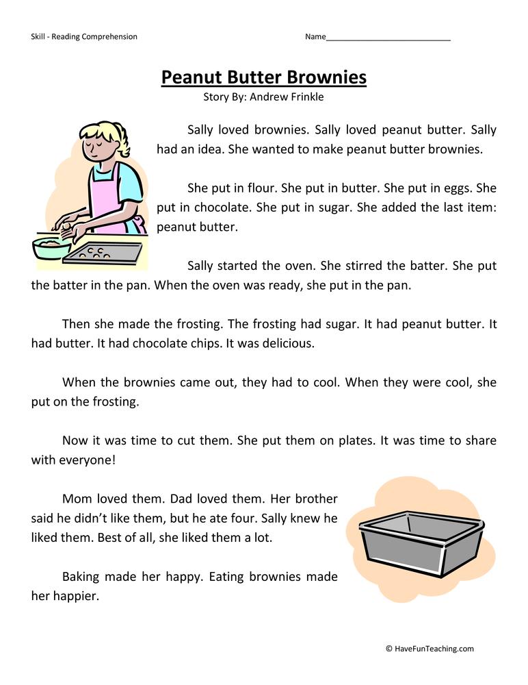Second Grade Reading Comprehension Worksheets – 2nd Grade Worksheets Reading