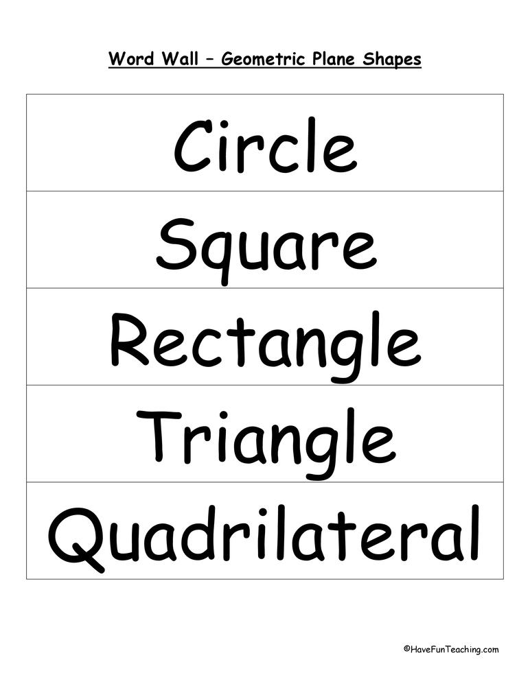 plane-shapes