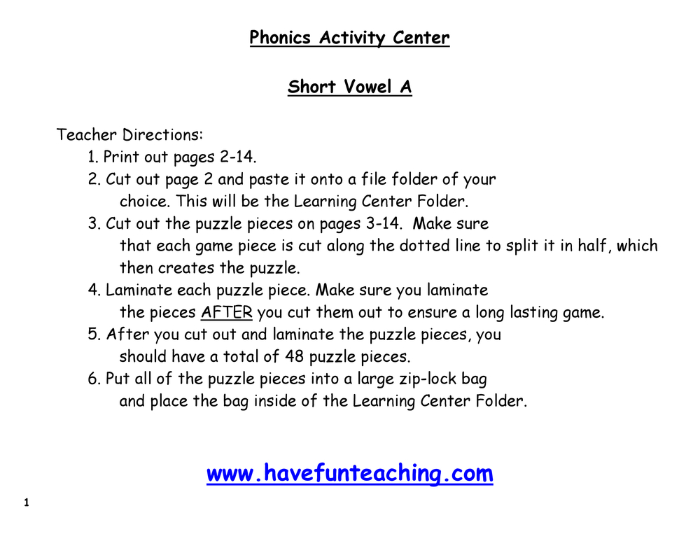 short-vowel-a-puzzle