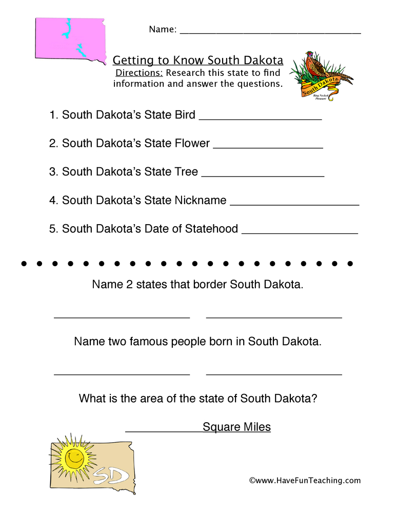 south-dakota-worksheet-1