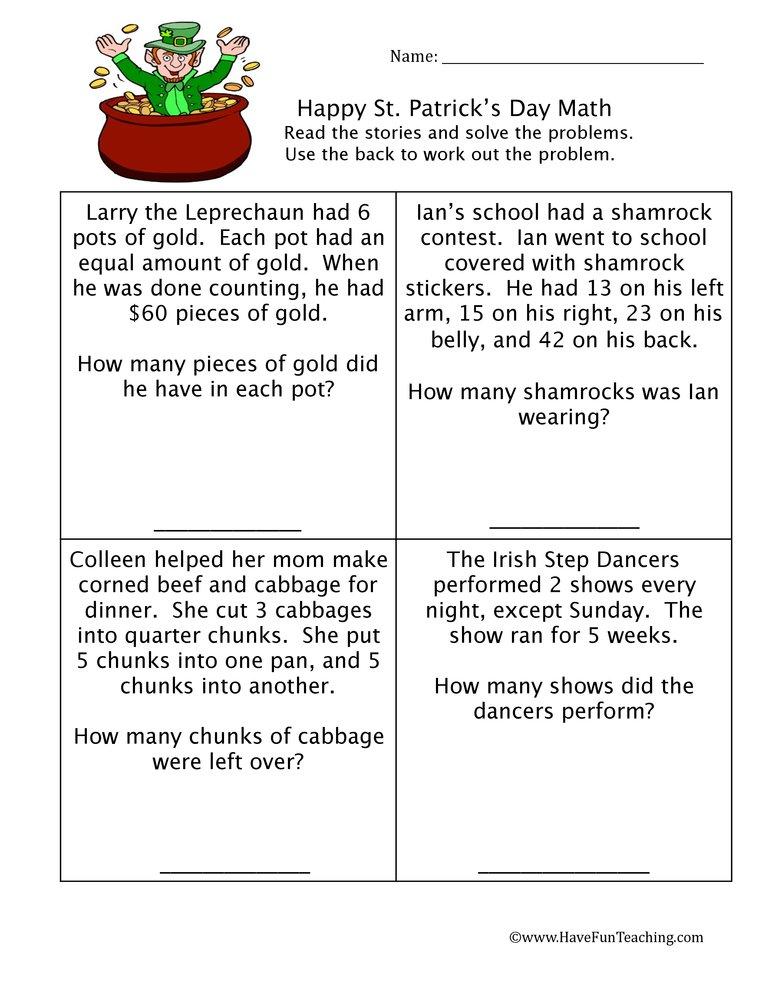 st-patricks-math-worksheet-1