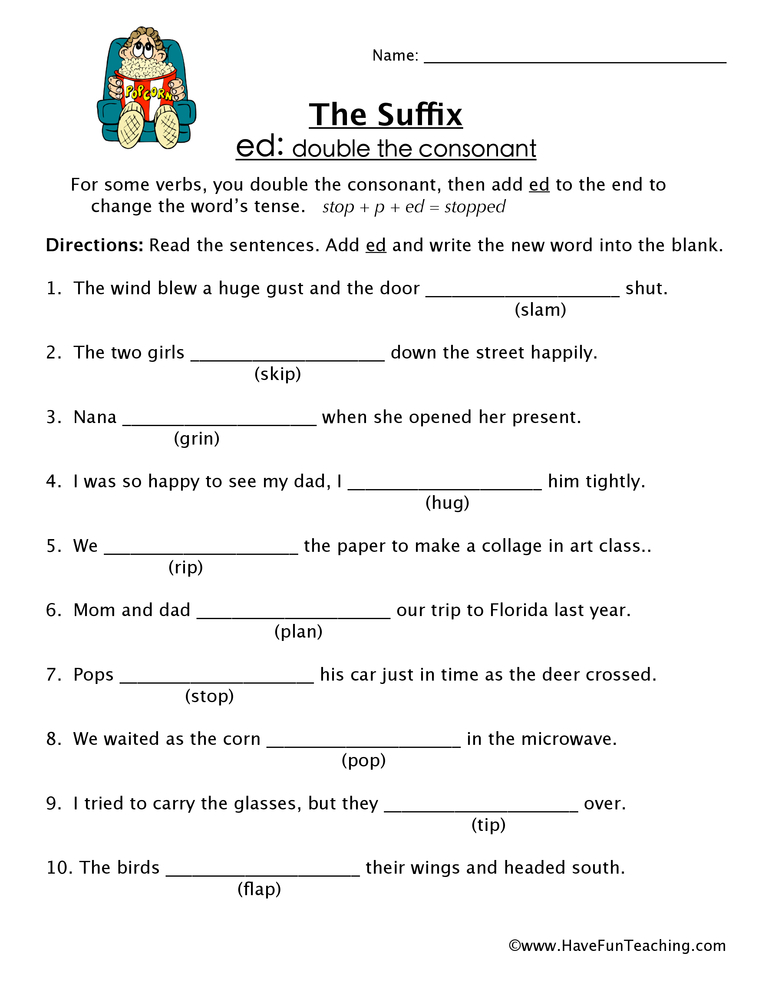 suffix-ed-worksheet-2