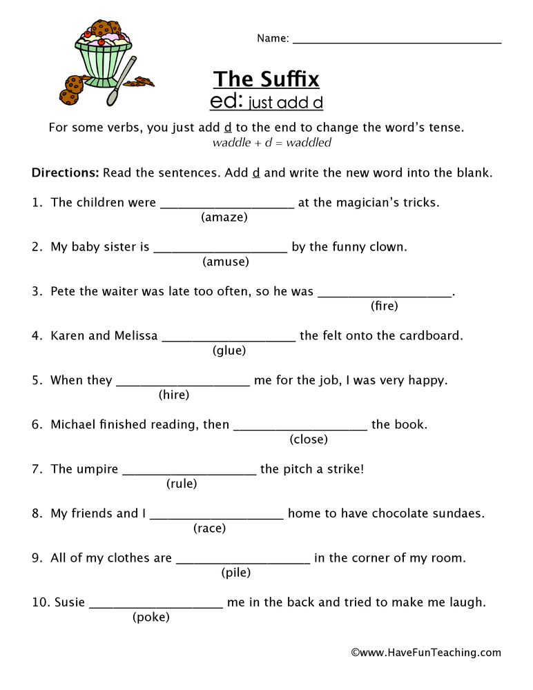 Suffix Worksheets Have Fun Teaching. Suffix Worksheet Ed. Worksheet. Year 3 Spelling Worksheets At Clickcart.co