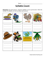Syllable Worksheets - Page 2 of 3 - Have Fun Teaching